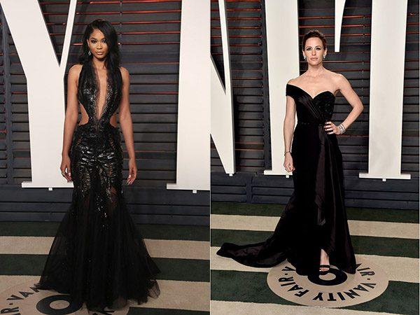 Chanel Iman & Jennifer Garner